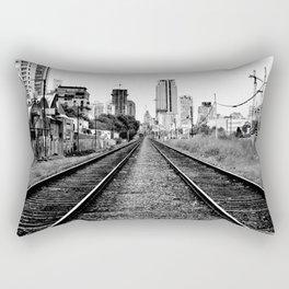 Road to progress Rectangular Pillow