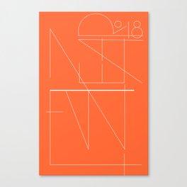 New Year Typo #society6 #decor #buyart Canvas Print