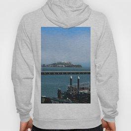 Alcatraz On A Foggy Morning Hoody