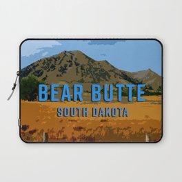 Bear Butte South Dakota Laptop Sleeve