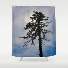 Today, I am Alone. Shower Curtain