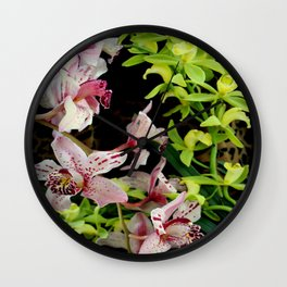 Ring Of Fleur Wall Clock