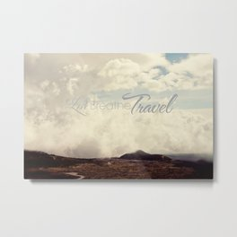 Live Breathe Travel - Mt Etna, Italy Metal Print