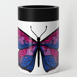 Fly With Pride: Bisexual Flag Butterfly Can Cooler