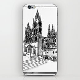 Catedral de Burgos iPhone Skin