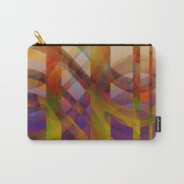 Abstract Design colorful abstract art by Ann Powell Carry-All Pouch