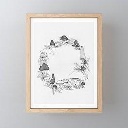 Fairy Ring Framed Mini Art Print