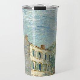 Vincent van Gogh - Restaurant Rispal at Asnières (1887) Travel Mug