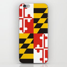 maryland state state flag united states of america country iPhone Skin