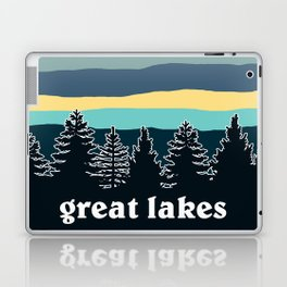 Great Lakes Tree Line Laptop & iPad Skin