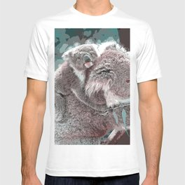 Toony Mum and Baby Koala T-shirt