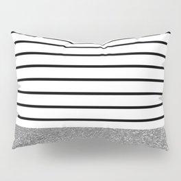 MaRINiera with silver Pillow Sham