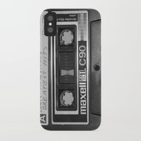 tape iPhone & iPod Cases featuring Tape by RMK Photography