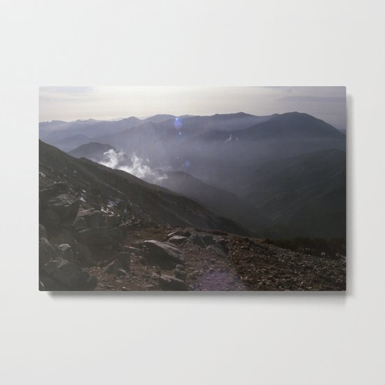 Angeles National Forest Metal Print
