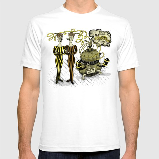 The Electro Bros and The Laugh Machine T-shirt