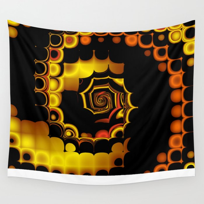 TGS Fractal Abstract 3 Wall Tapestry