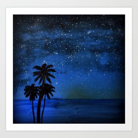 Seaside Impressions Art Print