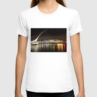 dublin T-shirts featuring Samuel Beckett Bridge, Dublin by Ciaran Mcg