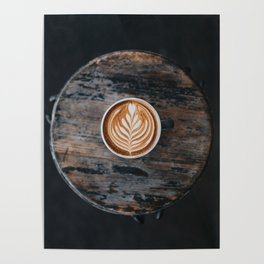 Coffee Latte Poster