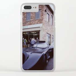 Car by comic shop Clear iPhone Case