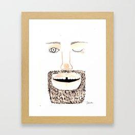Beardy1 Framed Art Print