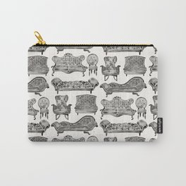 Victorian Lounge – Black Palette Carry-All Pouch