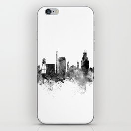 Durham North Carolina Skyline iPhone Skin