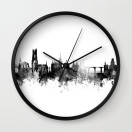 Fribourg Switzerland Skyline Wall Clock