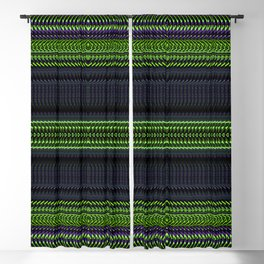 Apple Grape Rag Weave II by Chris Sparks Blackout Curtain