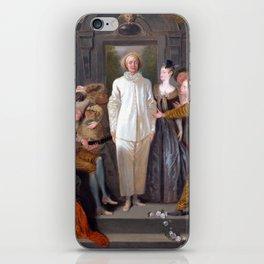 Antoine Watteau The Italian Comedians iPhone Skin