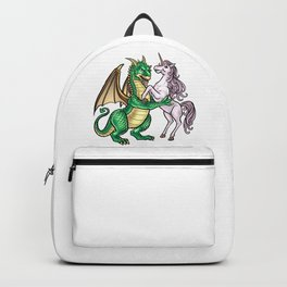 Dragon And Unicorn | Dancing Waltz Music Creature Backpack