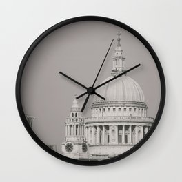 St. Pauls Cathedral London Wall Clock