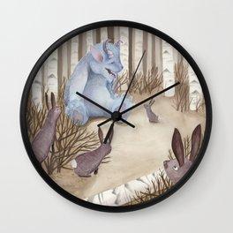 New Friends Wall Clock