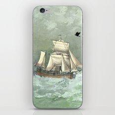 Breaking waves still iPhone & iPod Skin