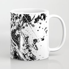 Paris map Mug