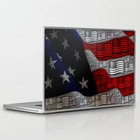 american Laptop & iPad Skins featuring American by Tracy66