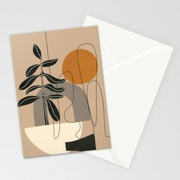 Abstract Shapes 04 Stationery Cards