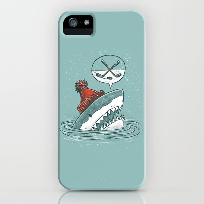 Hockey Shark iPhone Case