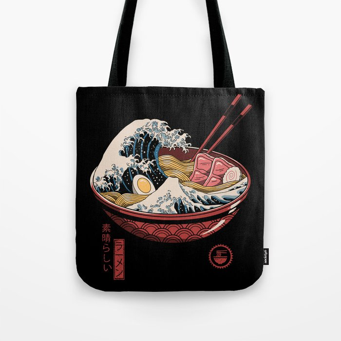 Great Ramen Wave Tote Bag