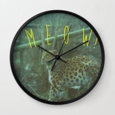MEOW! Wall Clock