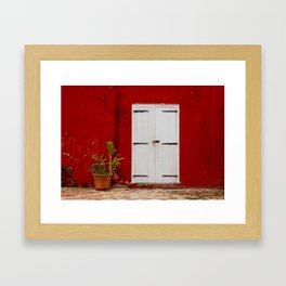 Door at the Fort Framed Art Print