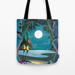 Night Swim Tote Bag