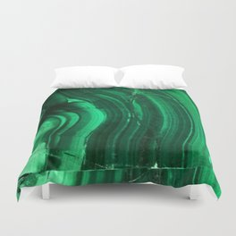 Malachite Texture Duvet Cover