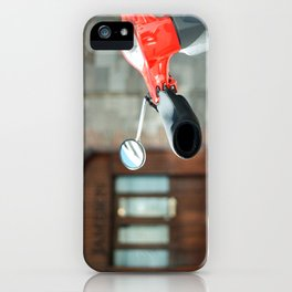 Red Vespa in Dublin iPhone Case
