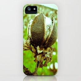Raw Cotton I iPhone Case