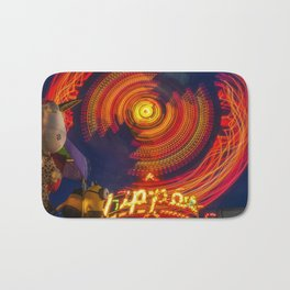 Zipper Ride Bath Mat