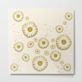 """Marguerite Polka Dots (Pattern)"" Metal Print"