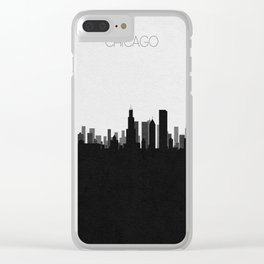 City Skylines: Chicago Clear iPhone Case