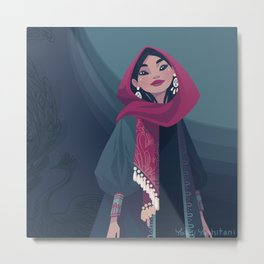 Tehran Fashion I Metal Print