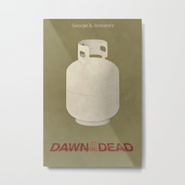 Dawn of the Dead Metal Print